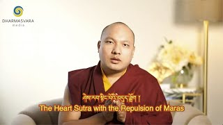 Karmapa Chants The Heart Sutra with the Repulsion of Maras - Tibeten English Subtitles