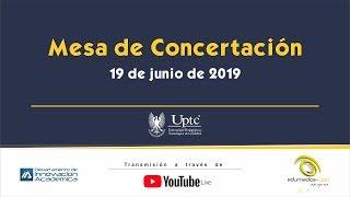Mesa de concertación 19 DE JUNIO DE 2019 UPTC thumbnail