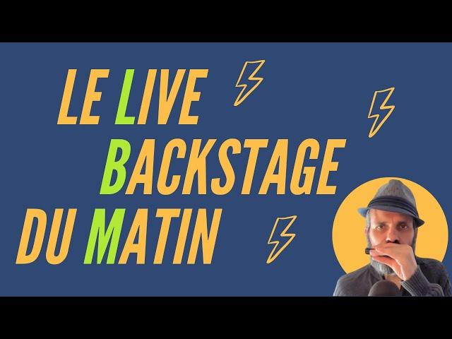 le Live Backstage du Matin - harmonica diatonique - blues / rock / jazz