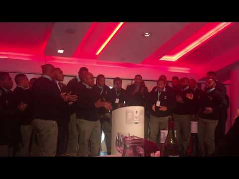 Fijian Rugby Team Singing Post 19/11/16 International ENG vs FIJI