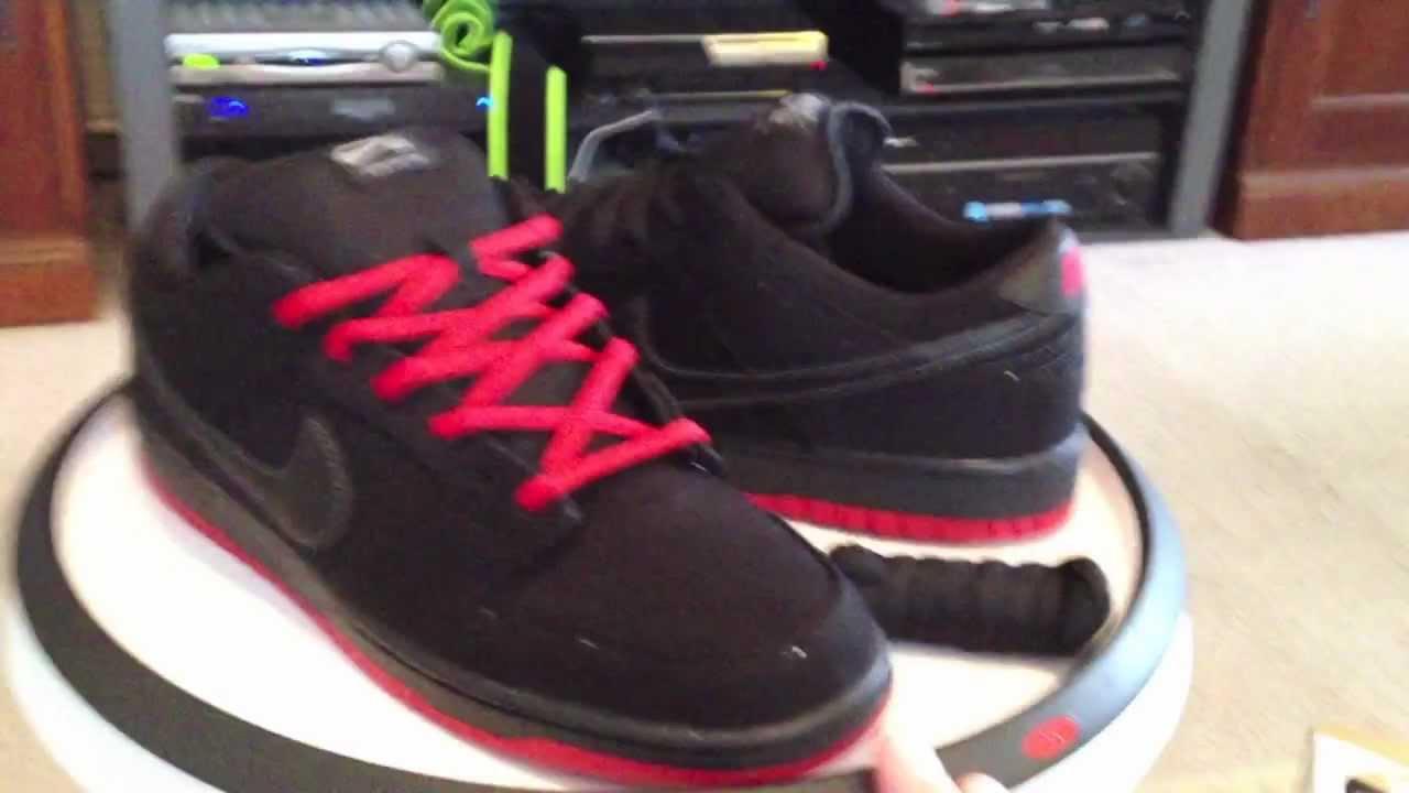 new arrival f38a9 6c63e Nike x Levi's Dunk Low Pro Premium SB QS - Black / Red colorway
