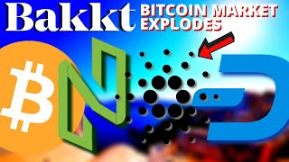 Bakkt Bitcoin MARKET EXPLODES | Cardano Shelley Staking | NULS | Dash | HUAWEI, FBI | Bitcoin News