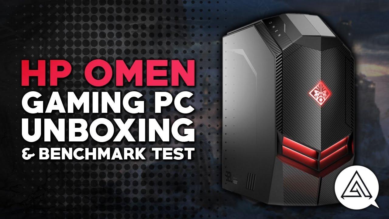 Hp Omen Desktop Gaming Pc Unboxing Benchmark Tests