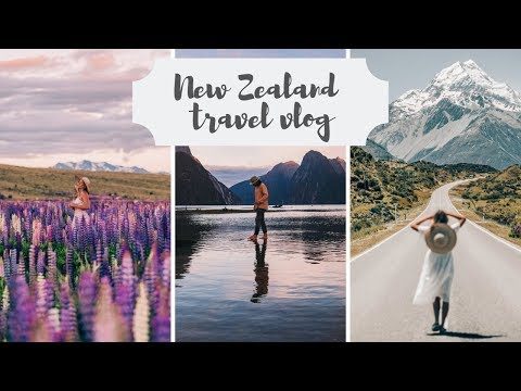 NEW ZEALAND TRAVEL VLOG | A week spent exploring the best of the South Island  | Haylsa & Kyle
