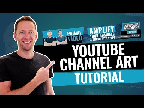 Simple way to create youtube channel art free online