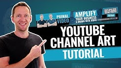How to Make a YouTube Banner (YouTube Channel Art Tutorial!)