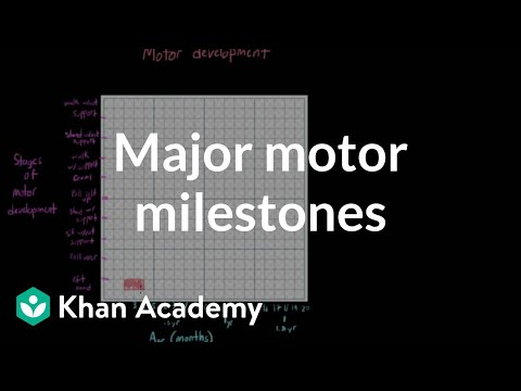 Major motor milestones | Behavior | MCAT | Khan Academy