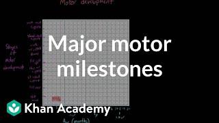 Major motor milestones