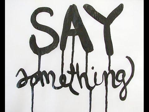 Say Something - Jasmine Thompson (1 hour loop)