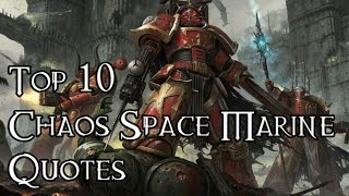 Top Chaos Marine Quotes