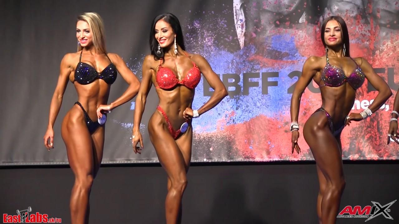 2a0749f5ac75f Bikinifitness OVERALL - 2017 IFBB/EBFF European championships - YouTube