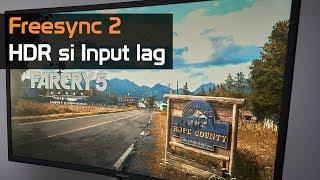 Freesync2, HDR si Input lag [EN sub]