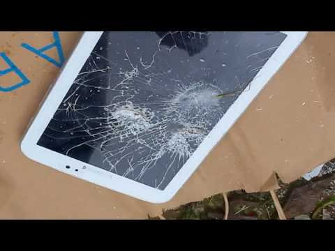 SMASHING PHONES AND TABLETS GONE WRONG PUBLIC CALLED 999