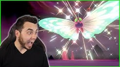MY FIRST SHINY G-MAX! SHINY GIGANTAMAX BUTTERFREE in Pokemon Sword and Shield!