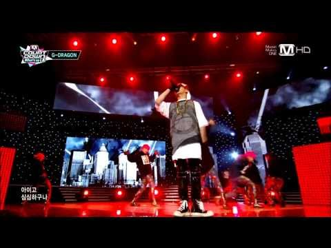 [130829] G-DRAGON (지드래곤) - Shake the World (세상을 흔들) + ONE OF A KIND (원오브어카인드) @ MNET MCD LA