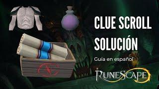 Explicación de clue scroll (runescape 3 - Español)