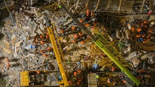 17 killed in building collapse in east China rescue work concludes