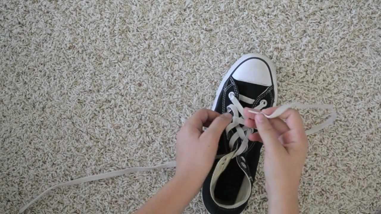 Bow Tie Lacing - Gaya mengikat tali sepatu keren