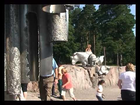 Helsinki. Sibelius monument.