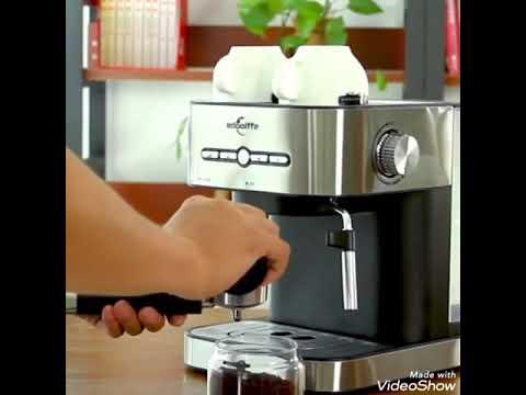 Edoolffe Espresso Household Coffe Machine Youtube
