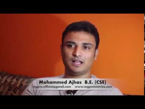 Young Indian Muslim encounter with Lord Jesus Christ....Beautiful Testimony