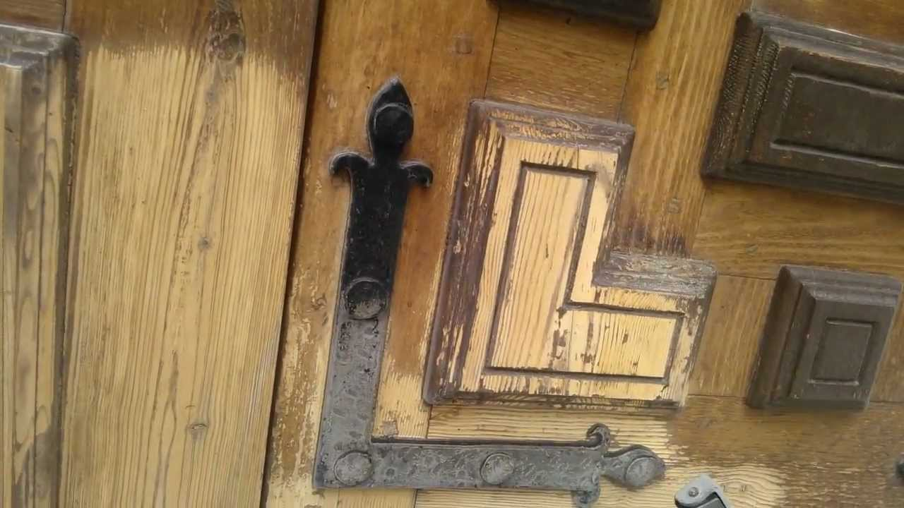 Decapado puerta de madera youtube - Pueras de madera ...