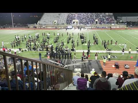 Killeen High School Marching Roos Band 10-10-18