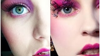 Catching Fire Capitol Makeup (Inspired by Effie Trinket) Thumbnail