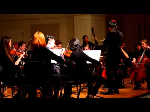 International Chamber Orchestra of America- Mozart Symphony 40 in G minor, K550