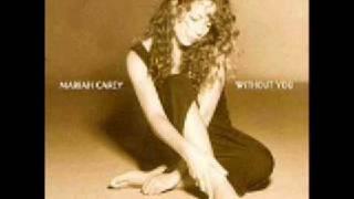 Without You - Mariah Carey - Karaoke/Instrumental - w-  lyrics to the right