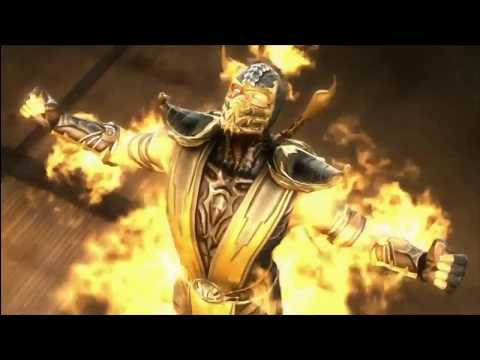 Scorpion Tribute - Mortal Kombat GMV | Time Of Dying - Three Days Grace (Music Video)