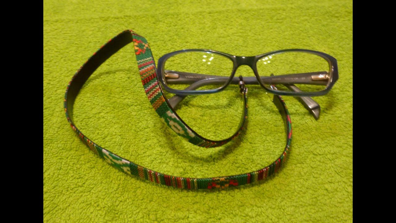 c7e2dd36aa Como hacer un cordon para gafas CORDON GAFAS ETNICO - YouTube