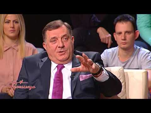 Cirilica - Predsednik Republike Srpske Milorad Dodik (TV Happy 23.01.2018)