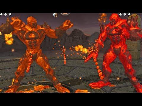 Mortal Kombat Armageddon BLAZE - (VERY HARD) - (WII)【TAS】【WR】