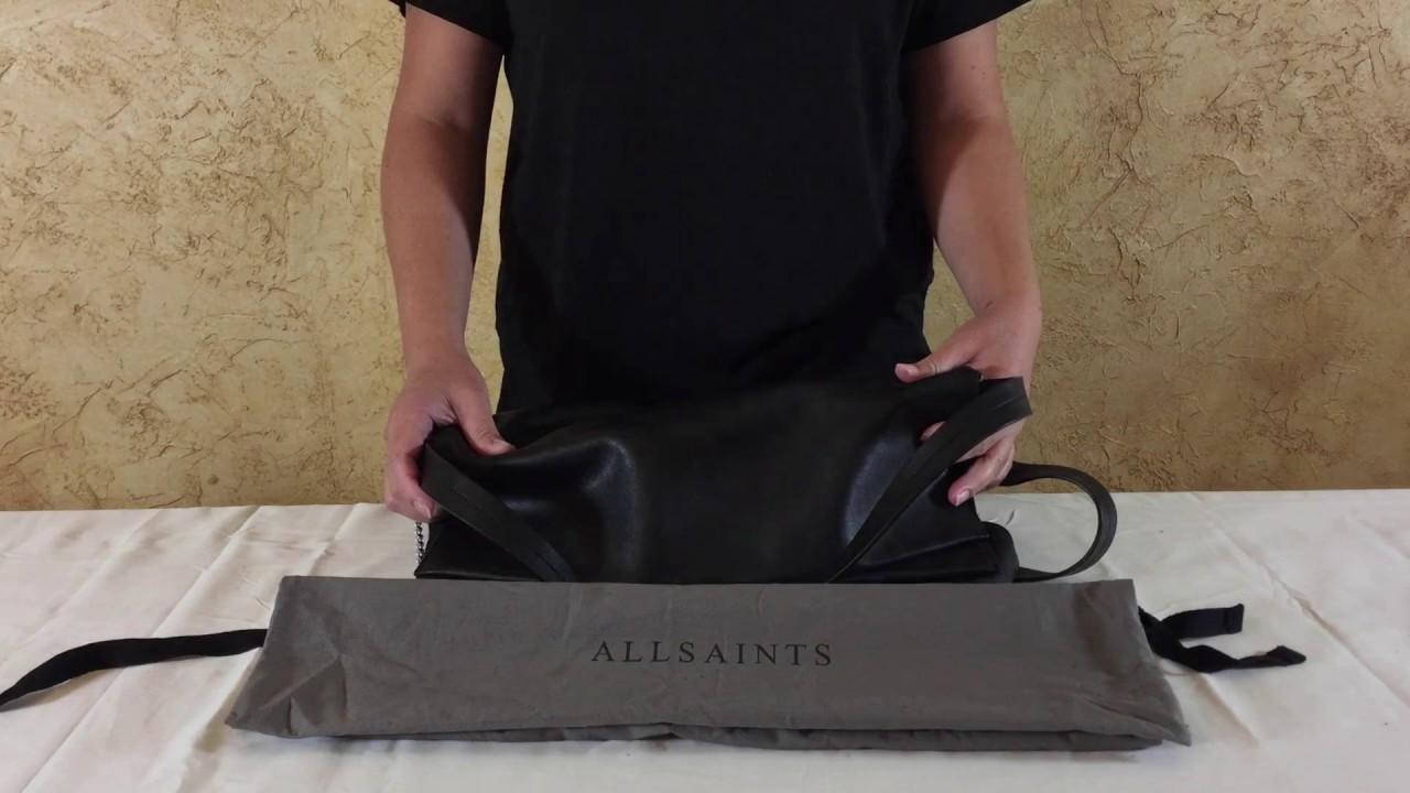 cb2d528b26e Allsaints Lafayette Large Shoulder Bag Review - YouTube