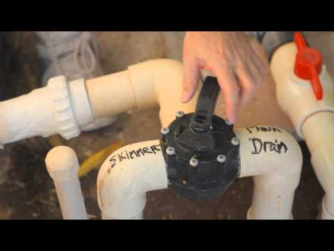 How to Drain Water From an In-Ground Pool With a Drain at the Bottom : Pool Maintenance