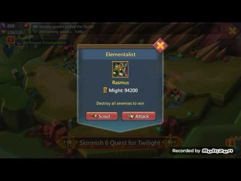 Lords Mobile - Skirmish 6 Quest For Twilight