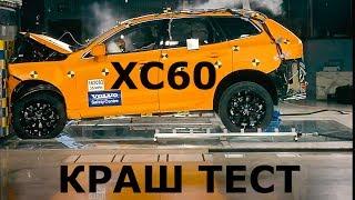 2017 Volvo XC60, краш тест - КлаксонТВ