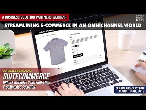 Streamlining E-Commerce In An Omni-Channel World