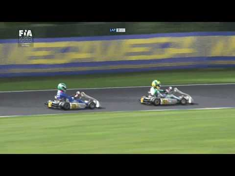 CIK FIA EUROPEAN CHAMPIONSHIP 2017 ROUND 4 OK FINAL