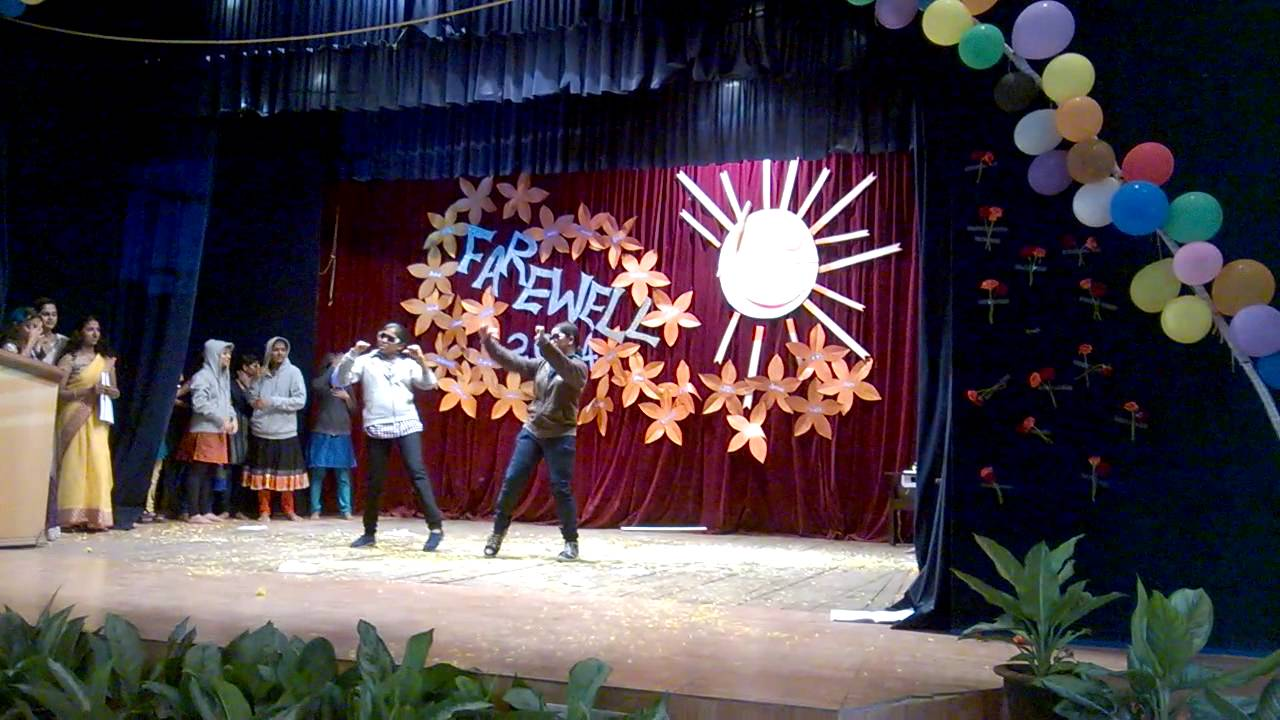 Nimhans College Of Nursing Farewell Party 2014 Youtube