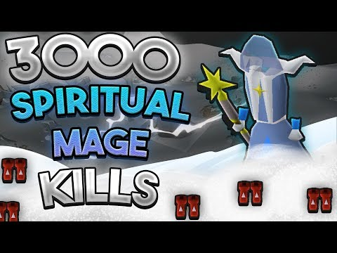 Loot From 3,000 Spiritual Mages