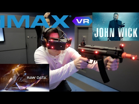 IMAX VR First Experience | HTC vive & StarVR | Funny VR review