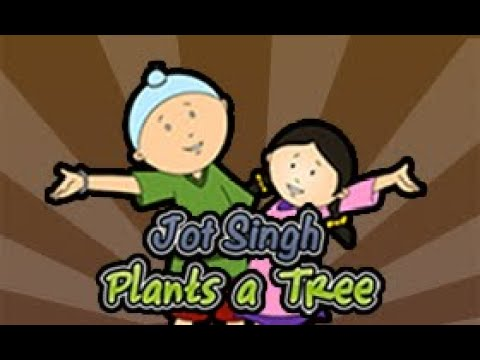 Jot Singh - Plants Tree - Kids Learning & Teaching