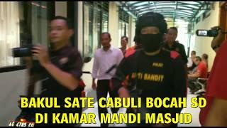 GILA! Bakul Sate Perk0sa Siswi SD di Kamar Mandi Masjid