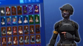 SHOWING MY FORTNITE l SKIN RARA ACCOUNT?