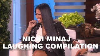 NICKI MINAJ LAUGHING COMPILATION | QUEEN