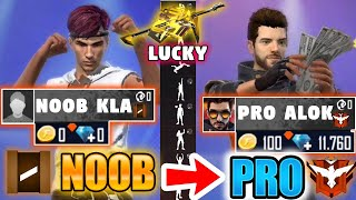 Free Fire poor Kla to *PRO* Alok - look how it became😱🔥