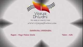Carnatic Music Lessons - Swaravali Varisaigal - Part 3