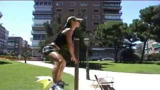 Legs & glutes outdoor workout with Two Yupa ทู ยุพา Thai National Trainer